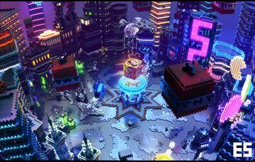 Lobby Sci-fi/Arcade Minecraft Map & Project