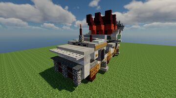 Mob.AD-6-21 / Air-Defense / Fictional / Schematic 1.12.2 Minecraft Map & Project