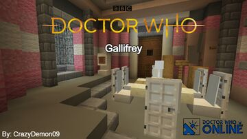Gallifrey Build - Doctor Who Online Minecraft Map & Project
