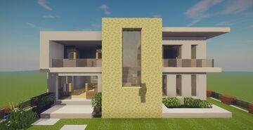Modern House #70 Map + Schematics Minecraft Map & Project