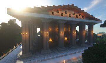 Tempio Greco Minecraft Map & Project
