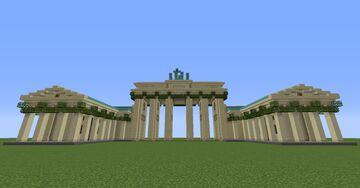 Brandenburger Tor Minecraft Map & Project