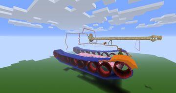 "Panzerjäger Tiger ""Ferdinand/Elefant"" Sd.Kfz. 184 (minecraft 27:1 scale) Minecraft Map & Project"