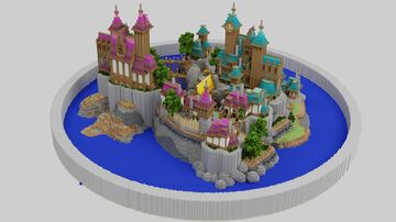 MINECRAFT EPIC TOWN FOR SKYBLOCK OR RPG Minecraft Map & Project