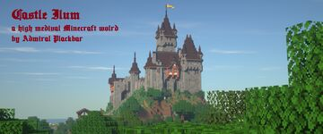 Castle Ilum - a Medieval Word for Vanilla Minecraft Minecraft Map & Project
