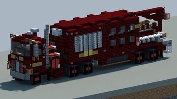Mack Super Pumper. Fire pumper [With Download] Minecraft Map & Project