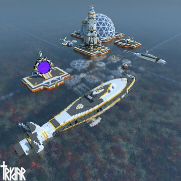 Subnautica Base World Download for java and bedrock Minecraft Map & Project