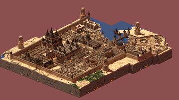 The Capital of Jenava Minecraft Map & Project