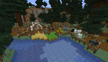 Spruce Forest Camp Minecraft Map & Project