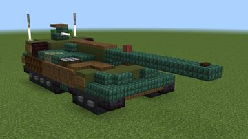 1.5:1 scale Object 490 Minecraft Map & Project
