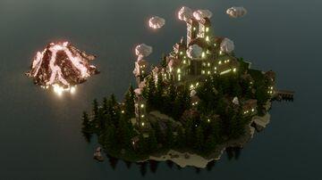 🍂 ISLAND HUB 🍂 Minecraft Map & Project