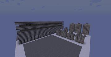 Soviet SCI-FI Buliding No.1 Minecraft Map & Project
