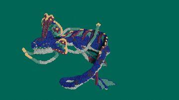 Sea serpent - Organic [1.16] Minecraft Map & Project
