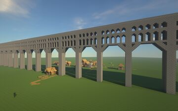 Modular Aqueduct with Rail (just add water) Minecraft Map & Project