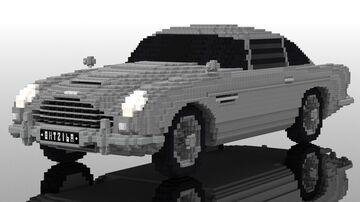 Aston Martin DB5 007 | 20:1 car Minecraft Map & Project