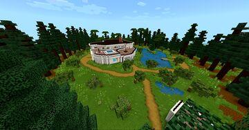 Redstone Mansion [Redstone Creation] Minecraft Map & Project