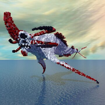 Subnautica Reaper Leviathan Minecraft Map & Project
