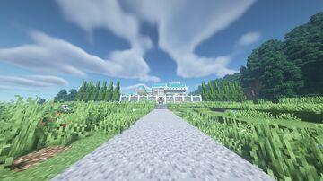 Windsburg Palace - Palace a la Rose | Project Windsburg Minecraft Map & Project