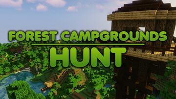 Forest Campgrounds Hunt Minecraft Map & Project