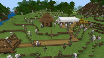 Maccer's Medieval Army Base (Bedrock Edition) Minecraft Map & Project