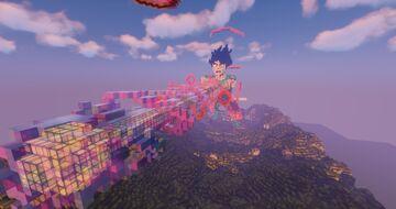 "🦋""Goku"" - Elytra Racing Map🦋 Minecraft Map & Project"