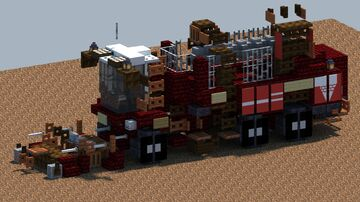 Grimme REXOR 630 Sugar beet Harvester [With Download] Minecraft Map & Project