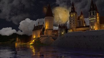 Hogwarts Castle -MAP DOWNLOAD ! Minecraft Map & Project