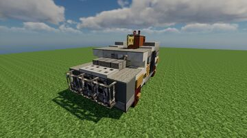 CRV-792-21 / Сombat vehicle / Fictional / Schematic 1.12.2 Minecraft Map & Project