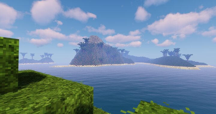 Biggest Island View From Smallest Island