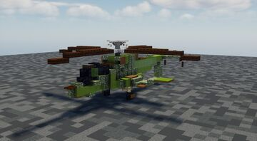 AH-56 Cheyenne - 1.5:1 Scale Minecraft Map & Project