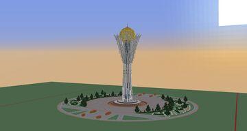 Project Nur-sultan(Astana) Minecraft Map & Project