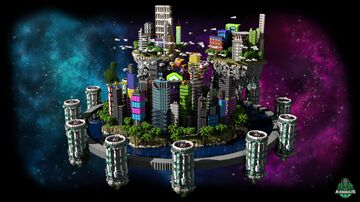 ⭐ EXCLUSIVE ⭐ Bluestone Lobby - AliensBuilds 🌠 Minecraft Map & Project
