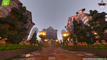 RTX: Lobby Survival from the official Minecraft Auronplay server. Minecraft Map & Project