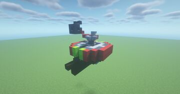 HVT  -  Adjustable TNT Belly Cannon ( Scattershot | Adjustable Arc | Belly Turret | Movecraft Compatible ) Minecraft Map & Project