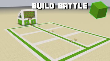 SullyMLG's Build Battle: LIME EDITION Minecraft Map & Project