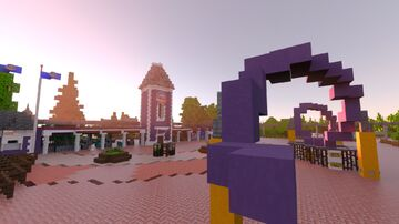 Alton Towers Resort Minecraft Map & Project