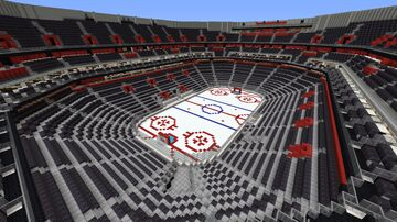 Little Caesars Arena - Detroit Red Wings Minecraft Map & Project