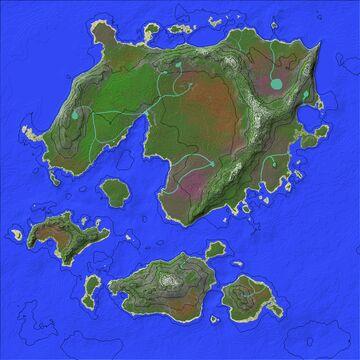 Worldpainter 1k x 1k Map Minecraft Map & Project