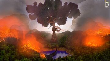 Nature On Fire Minecraft Map & Project
