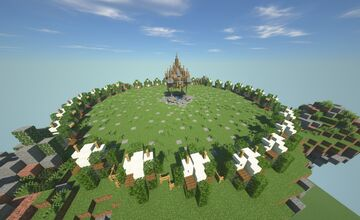 Floating Island Player Portals Minecraft Map & Project