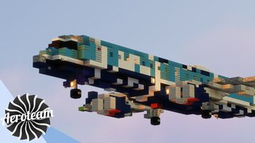 Embraer E190 | DOWNLOAD Minecraft Map & Project