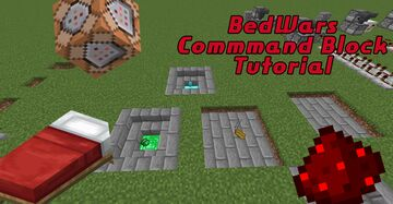 Vanilla Minecraft BedWars Commands/Redstone Tutorial Map Minecraft Map & Project