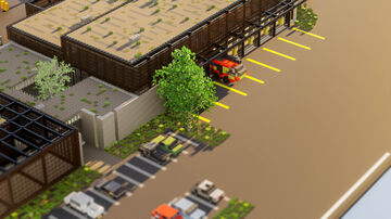 Airport fire station - TheVisual_Play Minecraft Map & Project
