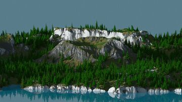 Bob's Island - 3072x3072 Map Minecraft Map & Project