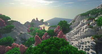 500x500 Mountain | WorldMachine & WorldPainter Minecraft Map & Project