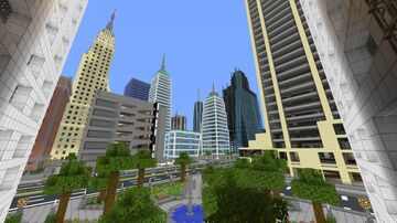 City of Lights 0.3.1 Minecraft Map & Project