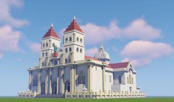 Catedral Basílica Reina de la Paz, San Miguel, El Salvador Minecraft Map & Project