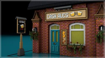 Cask Ales | Beautiful simulation in giant size🍻 Minecraft Map & Project