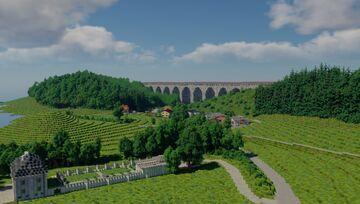 Austrian Western-Highway 1:1 scale in minecraft! Alps BTE Minecraft Map & Project