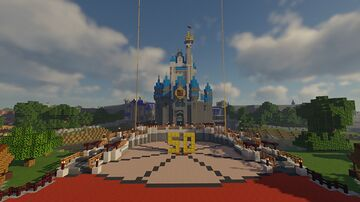 Walt Disney World 1971&1975 (50th Anniversary Edition) Minecraft Map & Project